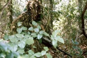 Tarnmuster Tarnnetz und Bundeswehr Parka