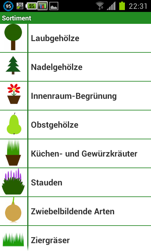 android app infos ber pflanzen mit der augala pflanzen app. Black Bedroom Furniture Sets. Home Design Ideas