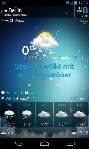 Wetter Widget
