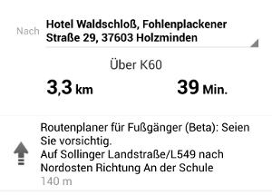 Google Maps Fussgänger und Outdoor Navigation
