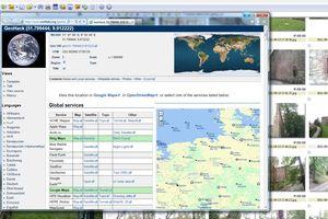 XnView GPS Ortsbestimmung Foto