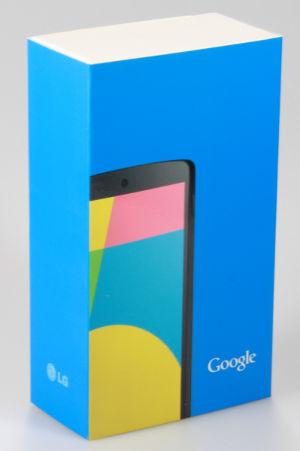 Google Nexus 5 Packung