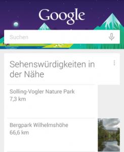 Google Now Funktionen
