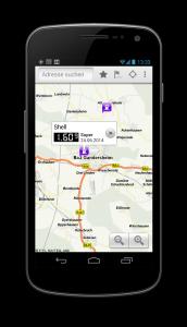 Android App ADAC Spritpreise  Benzinpreis App