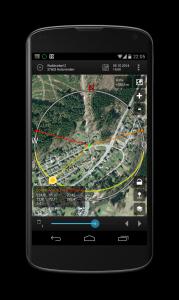Android App Sun Surveyor Sonne und Mond