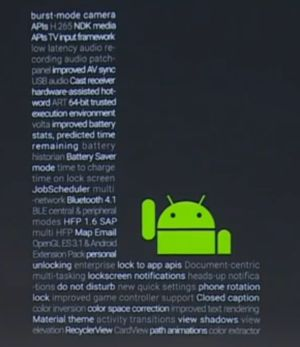 Android L Android 5.0