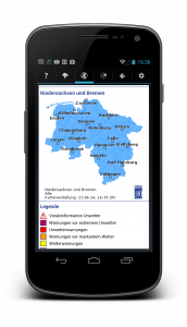 Android Wetter App Wetterwarner