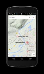 Google Maps Geländekarte