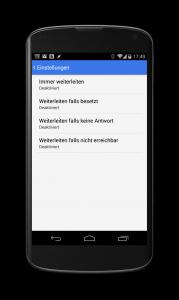android anrufweiterleitung einrichten