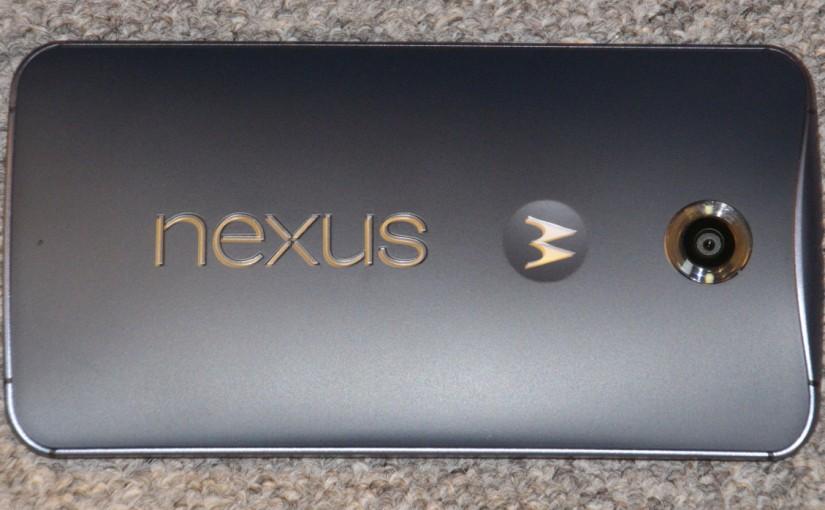 Google Nexus 6 von Motorola