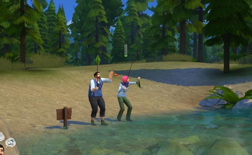 Die Sims 4 – Outdoor Leben