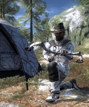 The Hunter Snakebite Winter Camouflage
