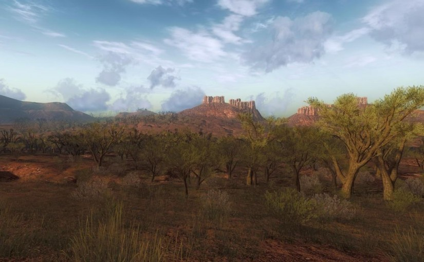 The Hunter: Bushrangers Run, Rotes Riesenkänguru, Outback Outfit
