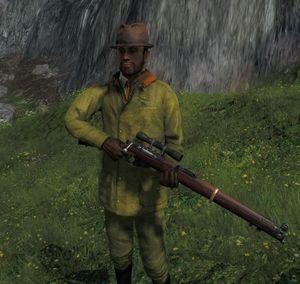 The Hunter Englische Repetierbüchse