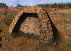 The Hunter Happy Camper Zelt Arid Tarnung