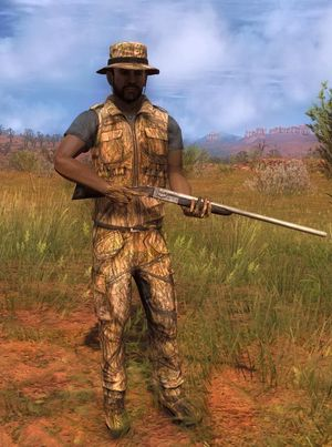 The Hunter Sneaky 3D Arid Tarnkleidung