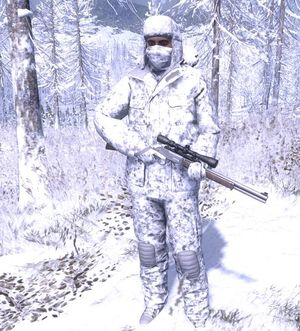The Hunter Sneaky 3D Arktik Winter Tarnung