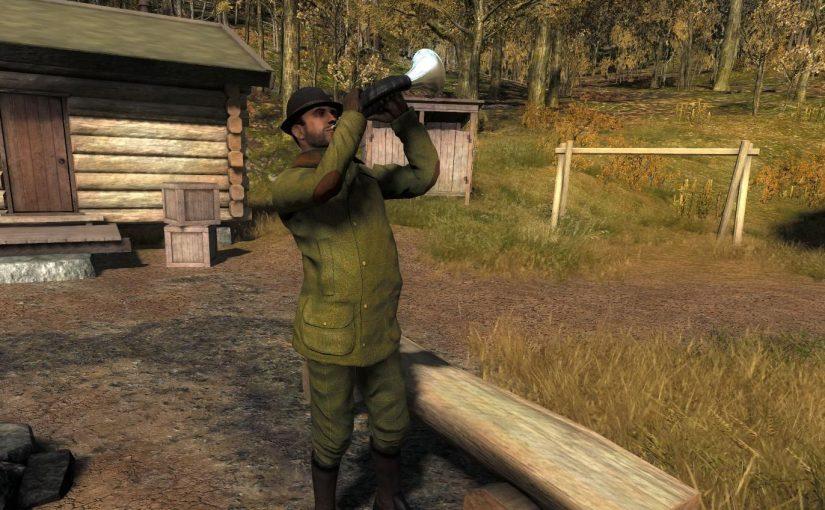 The Hunter Gewehre Jagdhorn