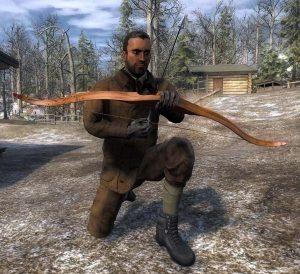 The Hunter Verstärkter Recurve-Bogen